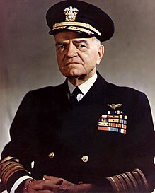 Admiral William Frederick Halsey Jr. (bull)